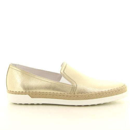 Tod's damesschoenen sneaker goud 168165
