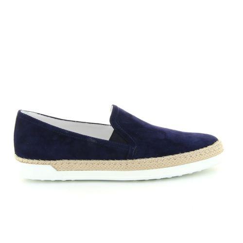 Tod's damesschoenen sneaker blauw 168165