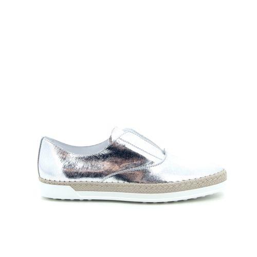 Tod's damesschoenen sneaker zilver 98616