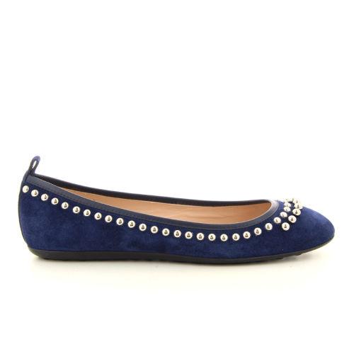 Tod's damesschoenen ballerina blauw 15247