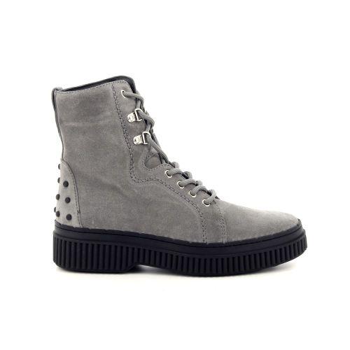 Tod's damesschoenen boots grijs 188832