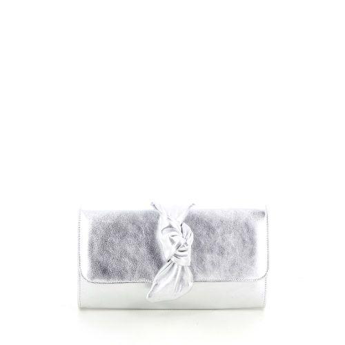 Lebru tassen handtas zilver 197074