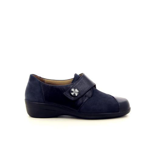 Solidus damesschoenen mocassin blauw 182142