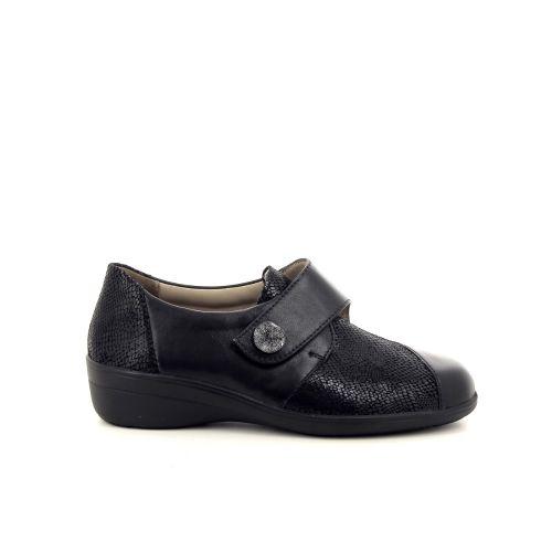 Solidus damesschoenen mocassin zwart 182142