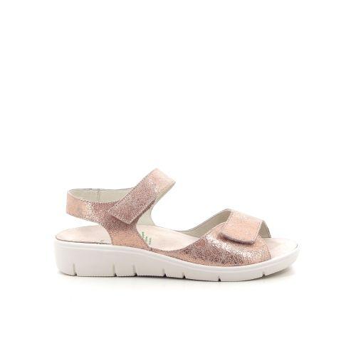 Solidus damesschoenen sandaal poederrose 192613