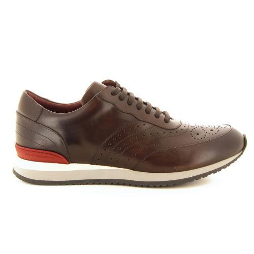 Moreschi herenschoenen sneaker bruin 18522