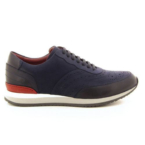 Moreschi herenschoenen sneaker blauw 18522