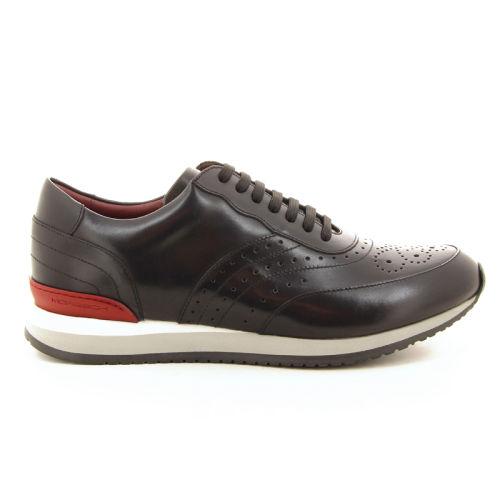 Moreschi herenschoenen sneaker zwart 18522