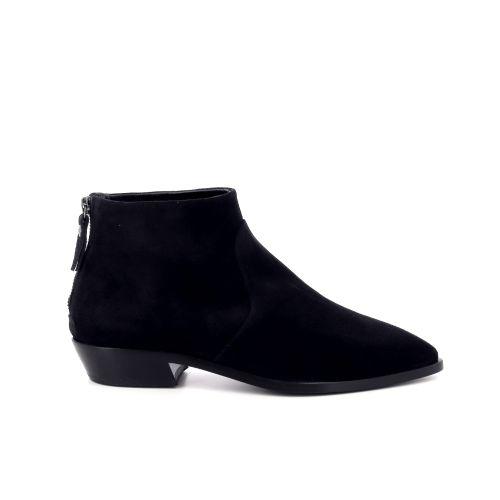 Agl damesschoenen boots zwart 199266