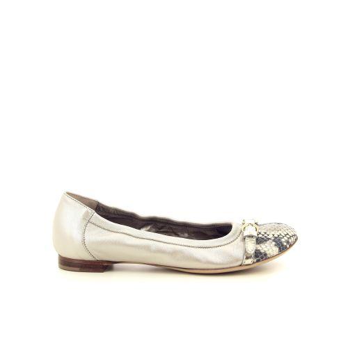 Agl damesschoenen ballerina taupe 192417