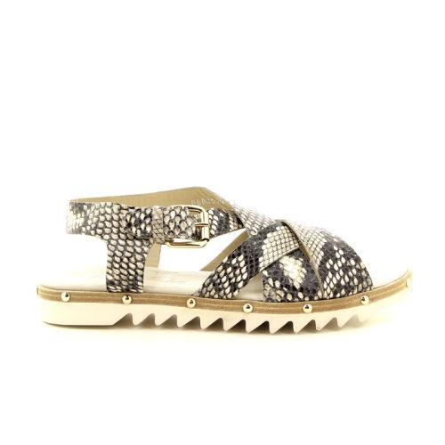 Agl damesschoenen sandaal taupe 98849