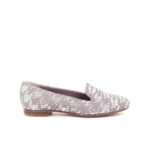 Agl damesschoenen mocassin zilver 169001