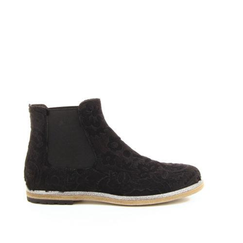 Attilio giusti damesschoenen boots zwart 18249