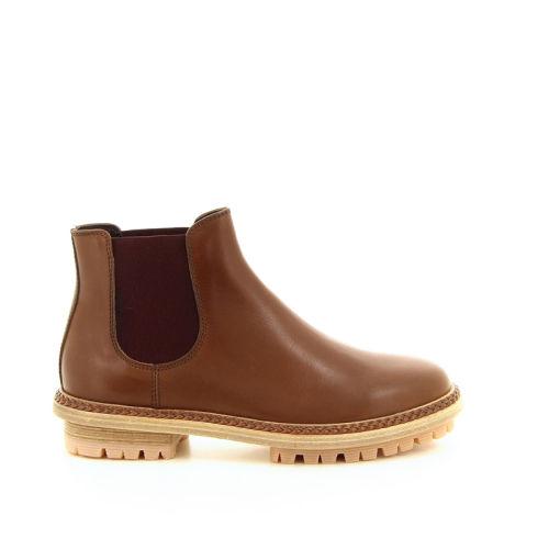 Attilio giusti damesschoenen boots cognac 18315
