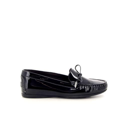 Agl damesschoenen mocassin zwart 98811
