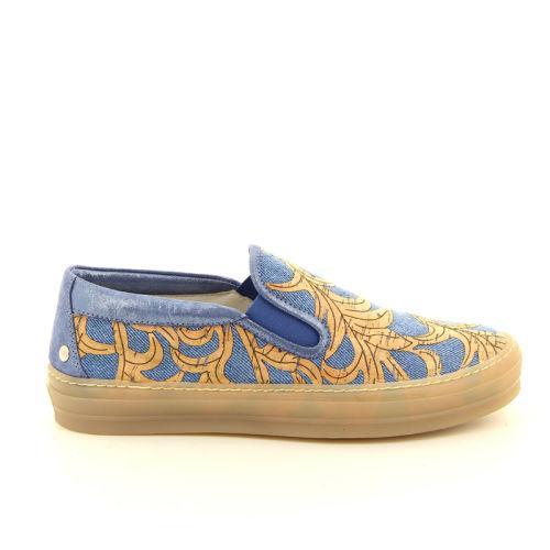 Agl damesschoenen sneaker blauw 98844