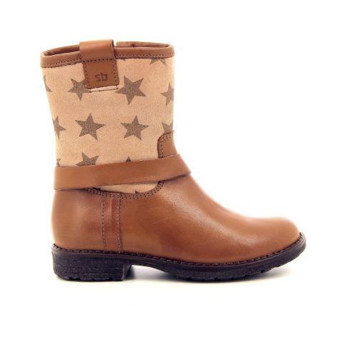 Stones and bones kinderschoenen boots cognac 176288