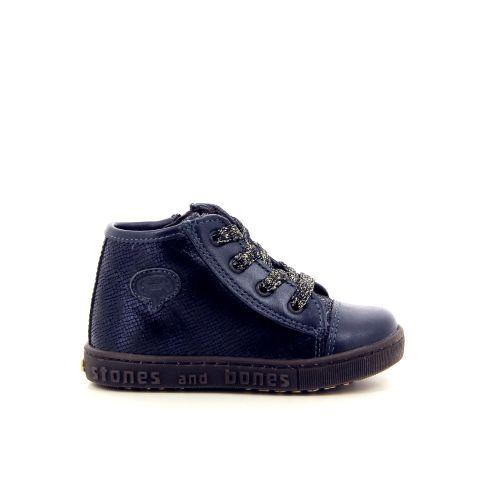 Stones and bones kinderschoenen sneaker blauw 176286