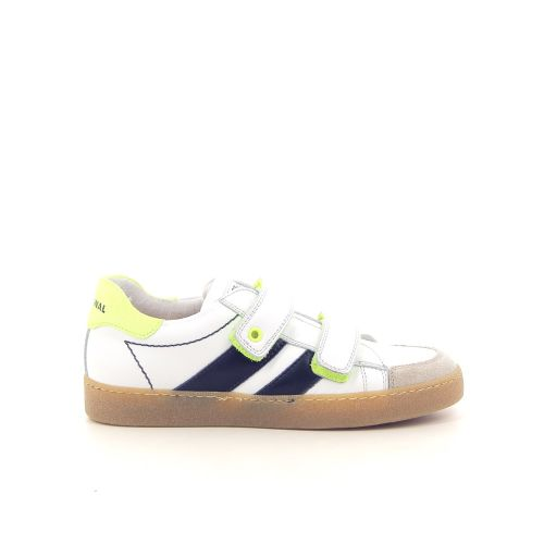 Stones and bones kinderschoenen mocassin wit 181430