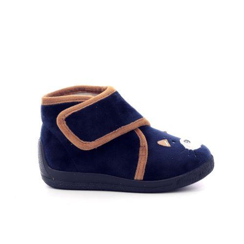 Bellamy  pantoffel donkerblauw 200238