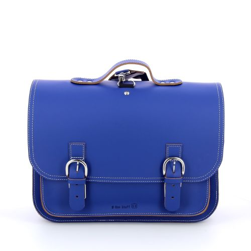 Ruitertassen tassen boekentas blauw 181001