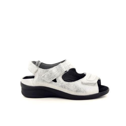 Durea damesschoenen sandaal zilver 193073