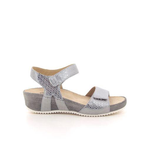 Durea damesschoenen sandaal zilver 193065