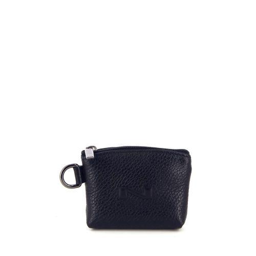 Nathan-baume accessoires portefeuille zwart 21301