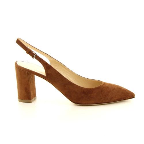 Dyva damesschoenen sandaal cognac 13050