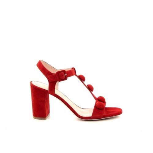 Dyva damesschoenen sandaal rood 173287
