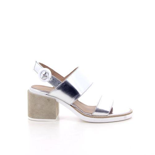 Janet & janet  sandaal zilver 194551
