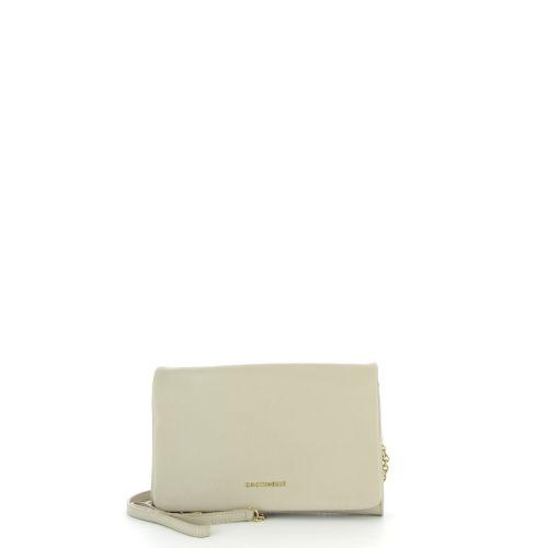 Coccinelle tassen handtas beige 21707
