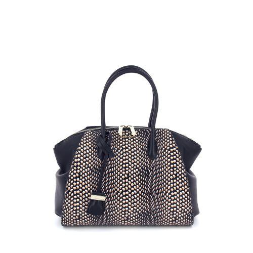 Coccinelle tassen handtas zwart 173923