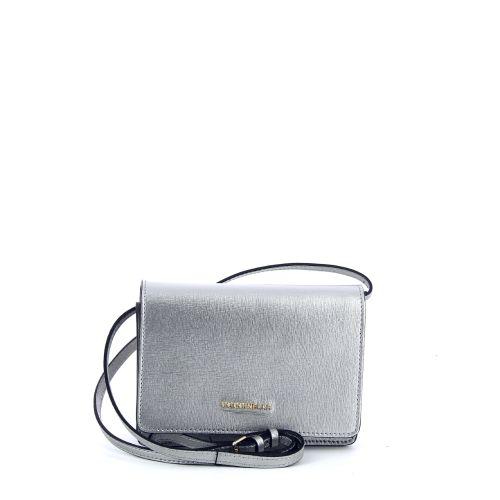 Coccinelle tassen handtas zilver 180975