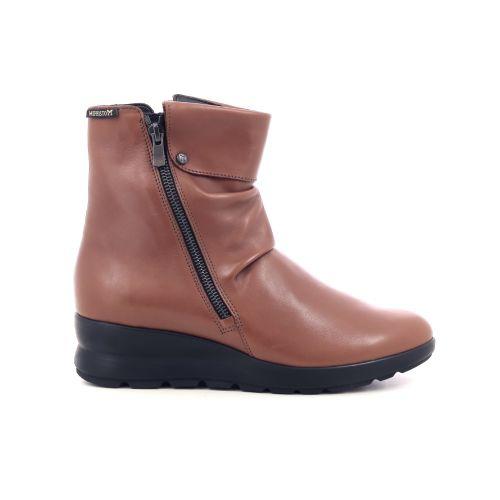 Mephisto damesschoenen boots cognac 209545