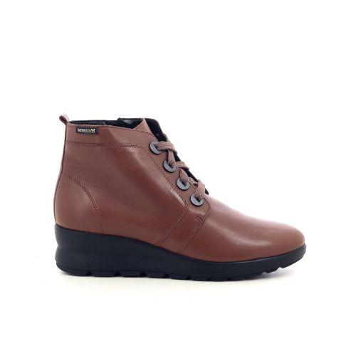 Mephisto damesschoenen boots cognac 209546