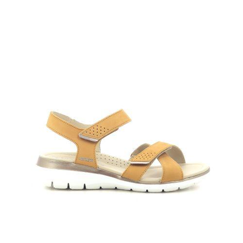Mephisto damesschoenen sandaal geel 203714