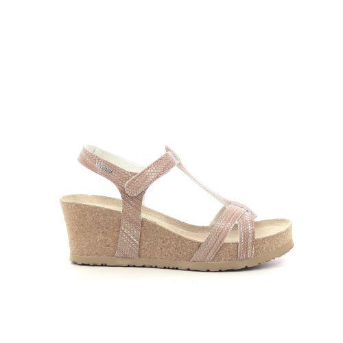 Mephisto damesschoenen sandaal zilver 203728