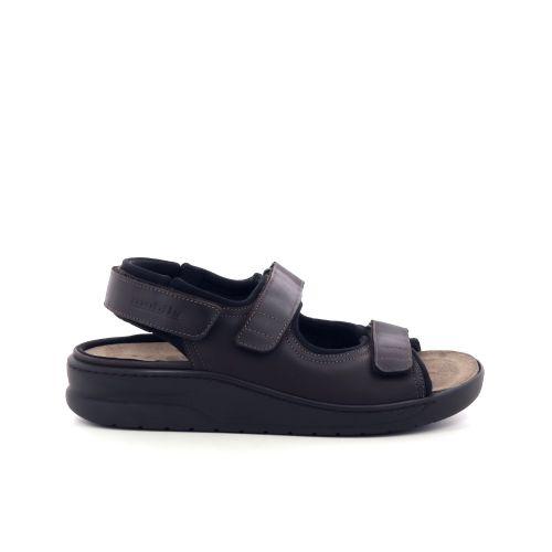 Mephisto herenschoenen sandaal d.bruin 205159