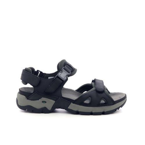 Mephisto herenschoenen sandaal zwart 205223