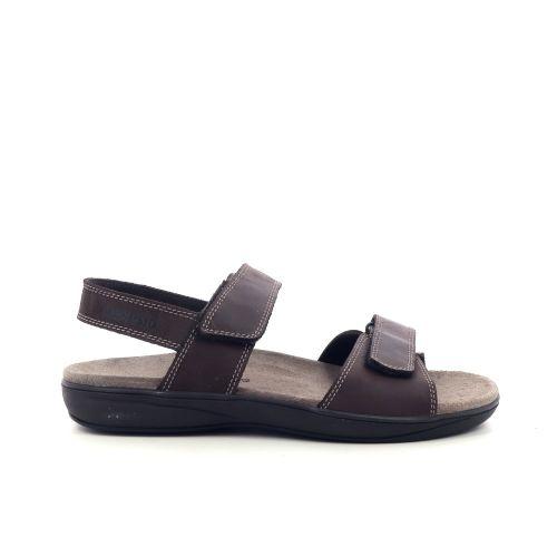 Mephisto herenschoenen sandaal zwart 213338