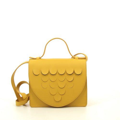 Mieke dierckx tassen handtas lichtgrijs 207010