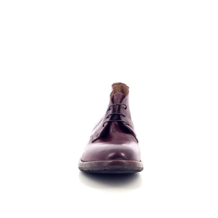 Mo ma herenschoenen boots roodbruin 189005