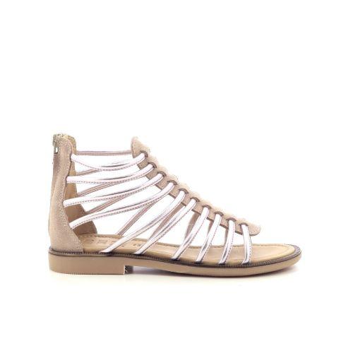 Momino  sandaal platino 203843