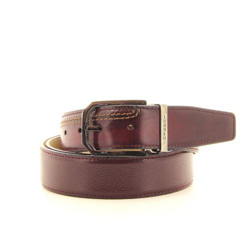 Moreschi accessoires riem rood 22025