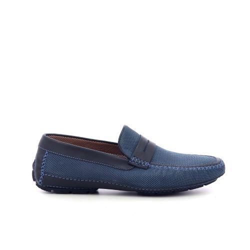 Moreschi  mocassin blauw 205735