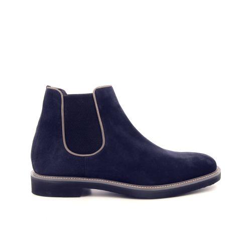 Moreschi herenschoenen boots donkerblauw 177900