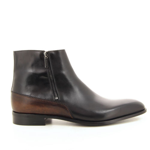 Moreschi herenschoenen boots zwart 18517