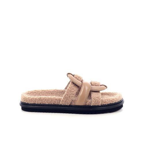 Morobe damesschoenen sleffer camel 218144