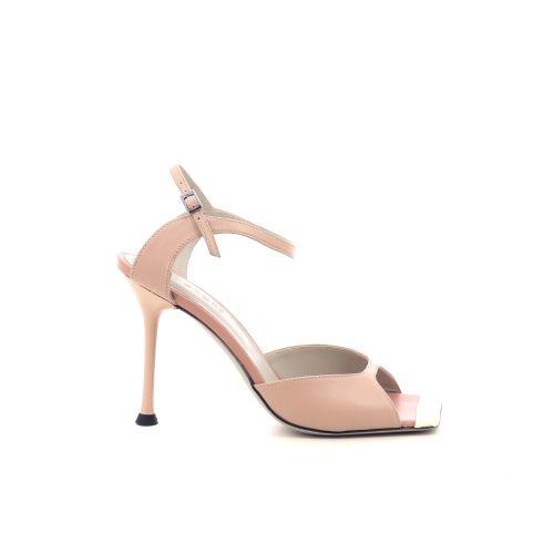Morobe damesschoenen sandaal poederrose 214194